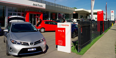 New Toyota Vehicles from Jacob Toyota