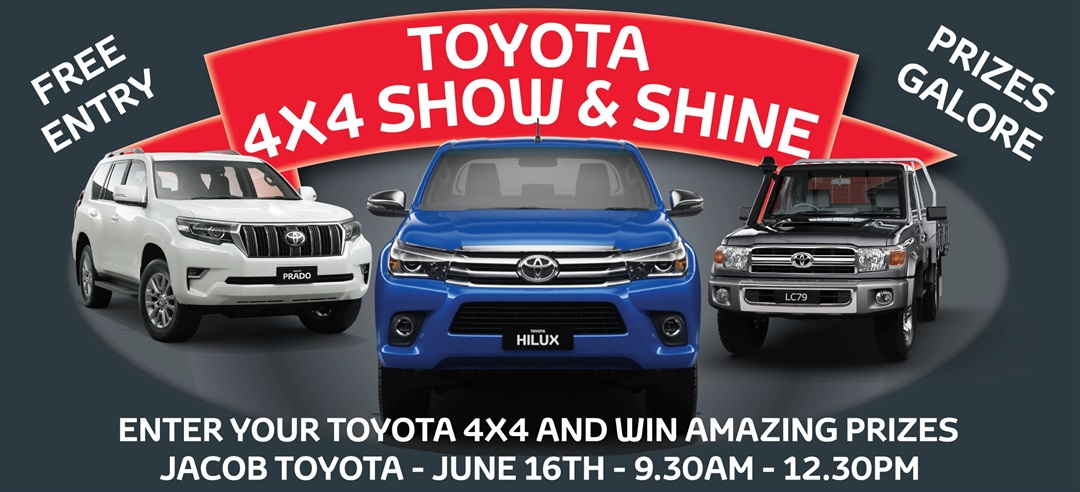 Jacob Toyota 4x4 Show & Shine