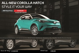 Toyota C-hr from Jacob Toyota