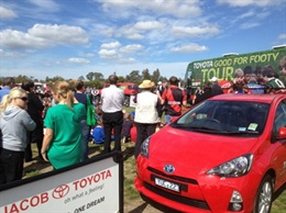 Toyota Good for Footy Tour