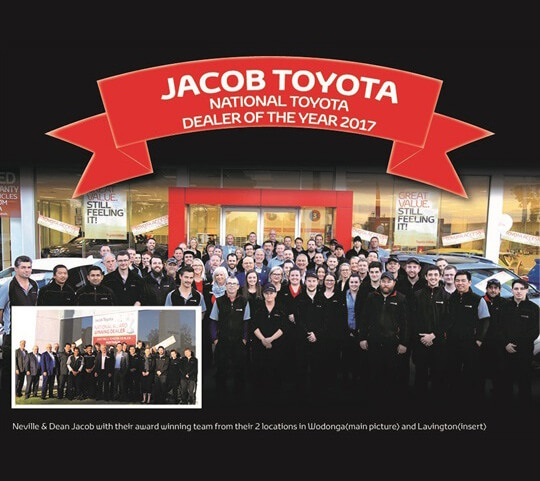 Jacob Toyota 2017 Toyota National Rural Dealer of the Year